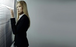 Photo Olivia Dunham (Anna Torv), the main characters of this film Fringe