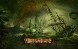 Pirates of the Caribbean - nice wallpaper for your desktop