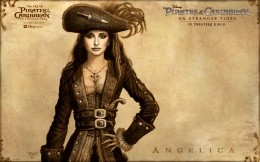 Pirates of the Caribbean: On Stranger Tides - the heroine Angelica