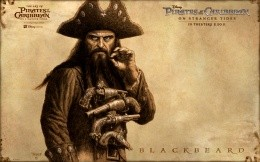 Pirates of the Caribbean: On Stranger Tides wallpapers hero - Blackbeard