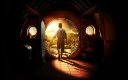 Screensaver with Bilbo Baggins in The Hobbit movie