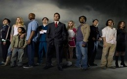 The main characters of the series «Heroes»
