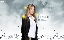 The main heroine of TV series Fringe - Olivia Dunham