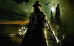 Van Helsing, the protagonist of the film fully armed