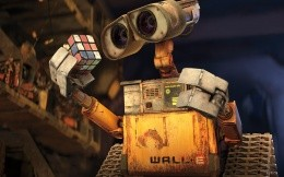 WALL-E, the protagonist of the animated film studio Pixar