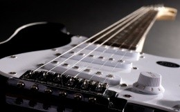 Electric guitar, photo wallpapers