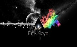 Picture from the album of the band Pink Floyd, Dark side of the moon