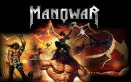 Wallpaper music heavy metal band Manowar