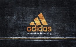adidas - impossible is nothing, branded wallpaper of a large company