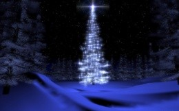 Elegant Christmas Tree - Christmas Wallpapers