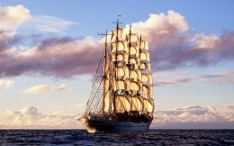 large sailing ship