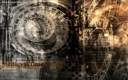 Medieval Time - Image wallpaper, dark wallpaper, time, clock