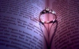 Ring of book pages