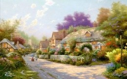 Thomas Kinkade - European Village
