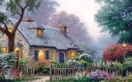 Thomas Kinkade Home and Garden