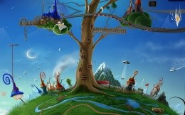 Whimsical world