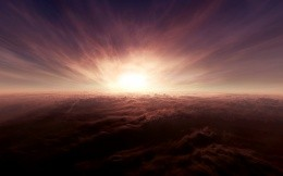 Above the clouds - beautiful sky