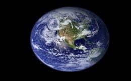 Earth - the image of the earth from space - Wallpaper