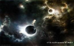 One Thousand Word - A Thousand Worlds - space wallpaper, space, planet