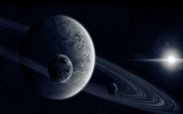 Planet, its moons and the asteroid belt