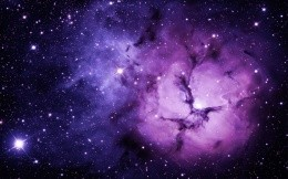 Purple Space Nebula