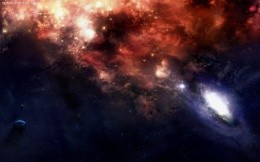 Space, and black holes, wallpapers