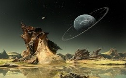Unusual forms of irregularities unknown planet