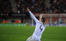 Football player Sergio Ramos, Real Madrid