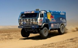 Kamaz on the Dakar