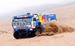 Kamaz Paris-Dakar rally