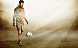Lionel Andres Messi, Barcelona (Argentina), photo wallpaper