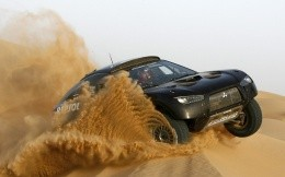 Mitsubishi at the Dakar Rally