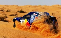 Rally in desert
