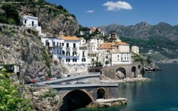 Atrani, Italy - photo wallpaper