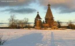 Beauty of Karelia, Russia, wallpaper, city, town
