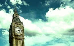 Big Ben and the London sky