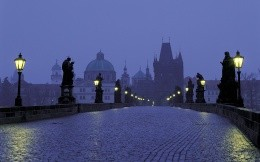 Evening in Prague