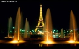 Night Paris, the Eiffel Tower, the wallpaper, the Champs Elysees, Fantan