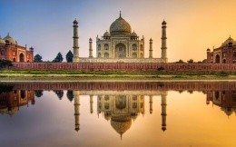 Taj Mahal picture and wallpaper