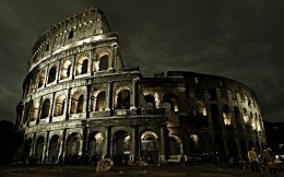 The Colosseum in Rome (Italy)