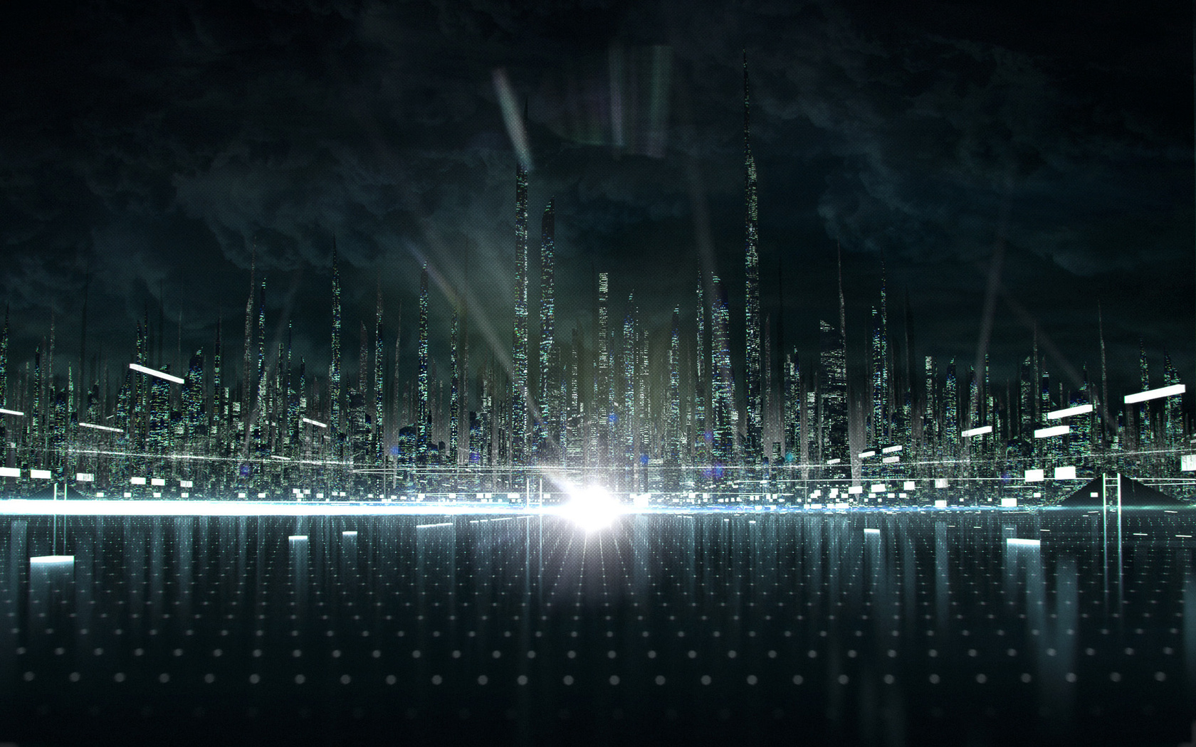 download desktop wallpaper city in the matrix