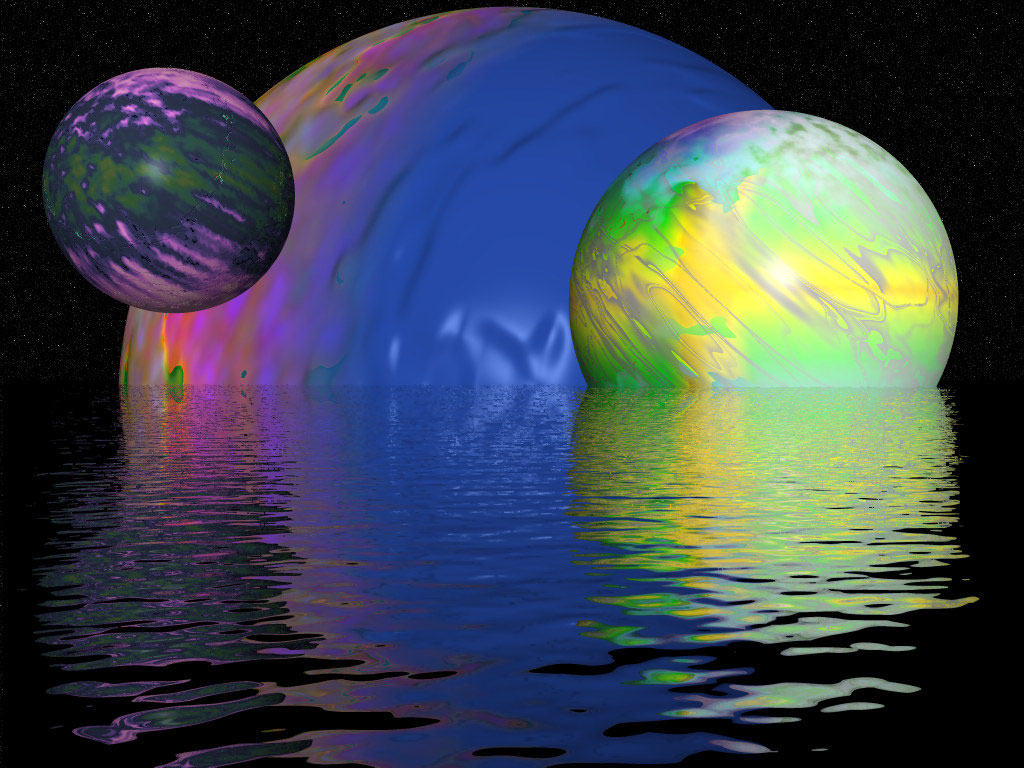 swimming planets