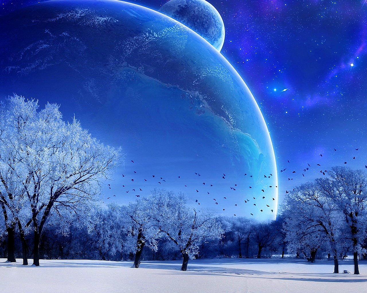 Winter and Space