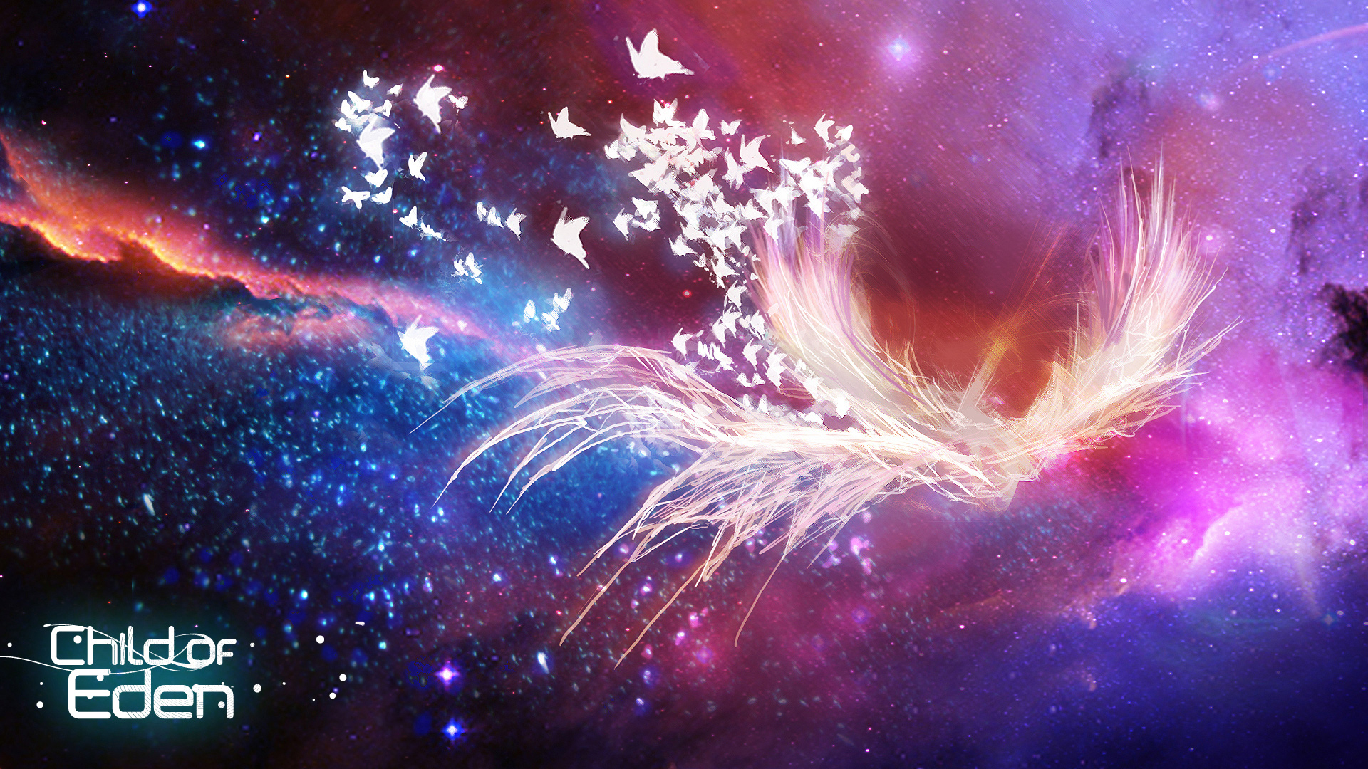 Child of Eden, abstract wallpapers
