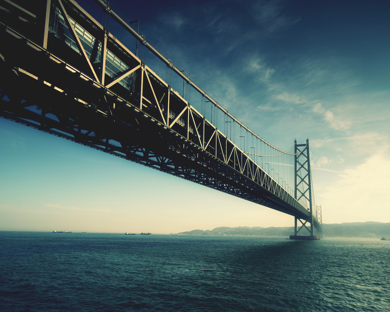 Akashi-Kaikyo Bridge in Japan