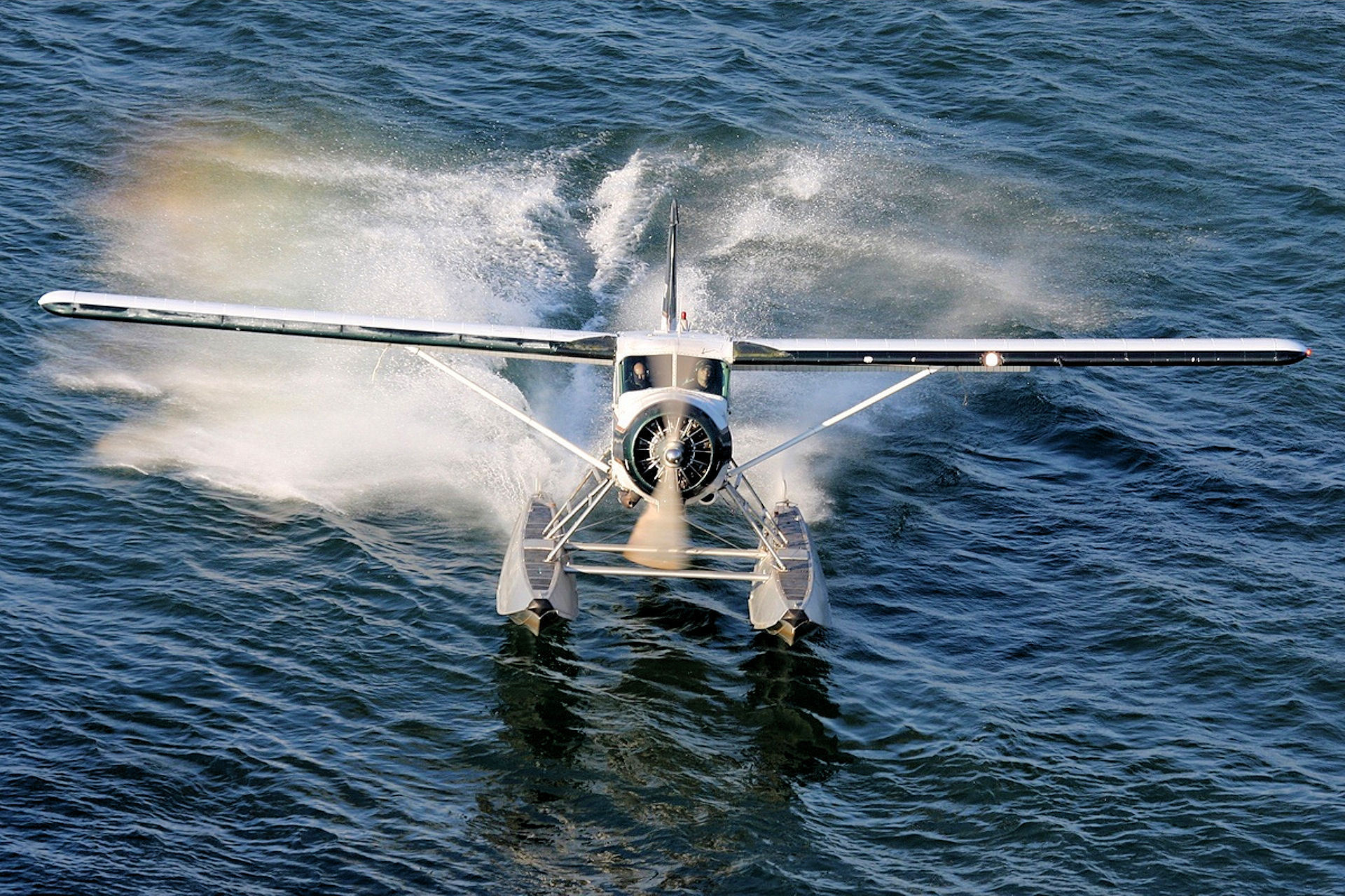 Aircraft on water