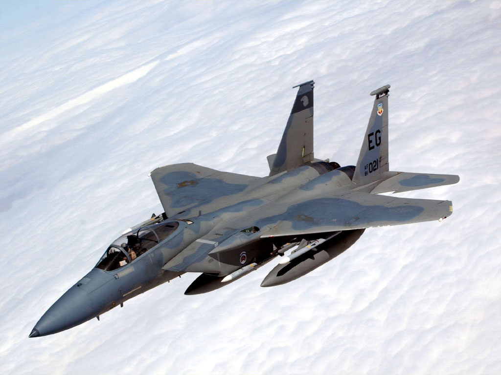 American military aircraft F-15