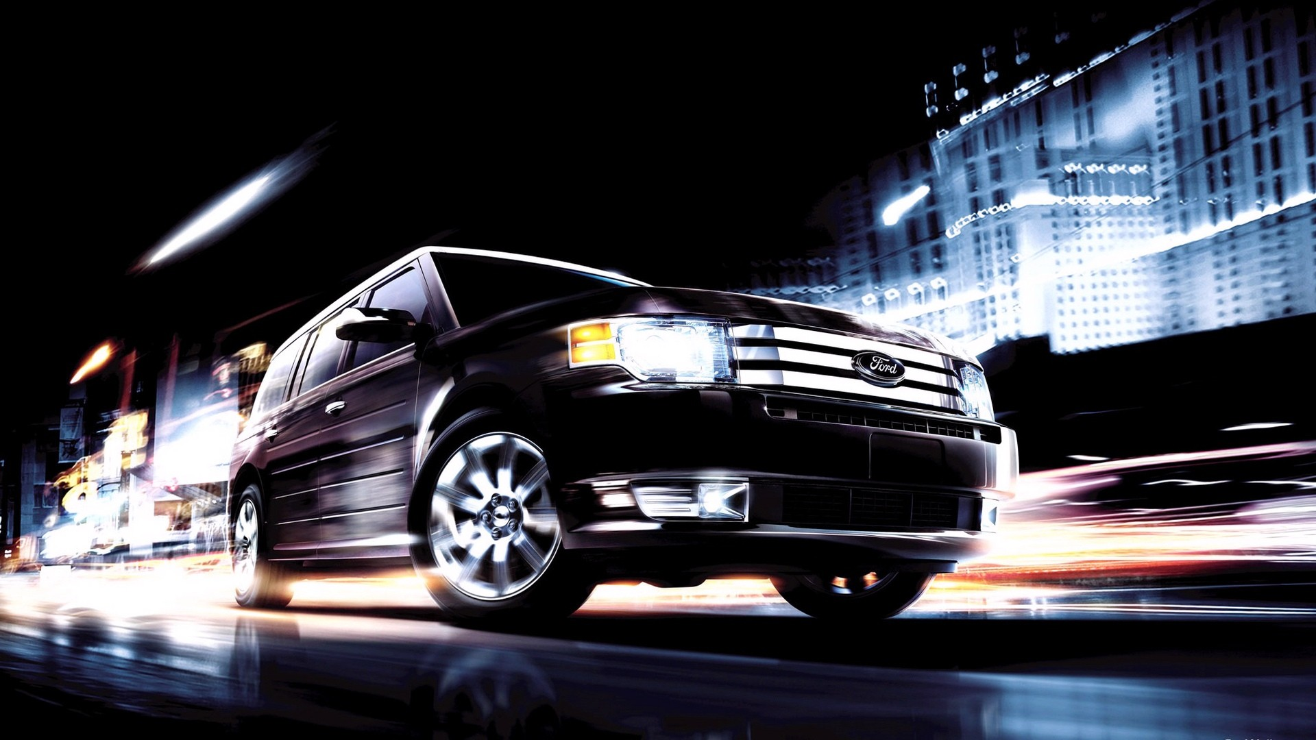 American SUV Ford Flex, 2012 issue