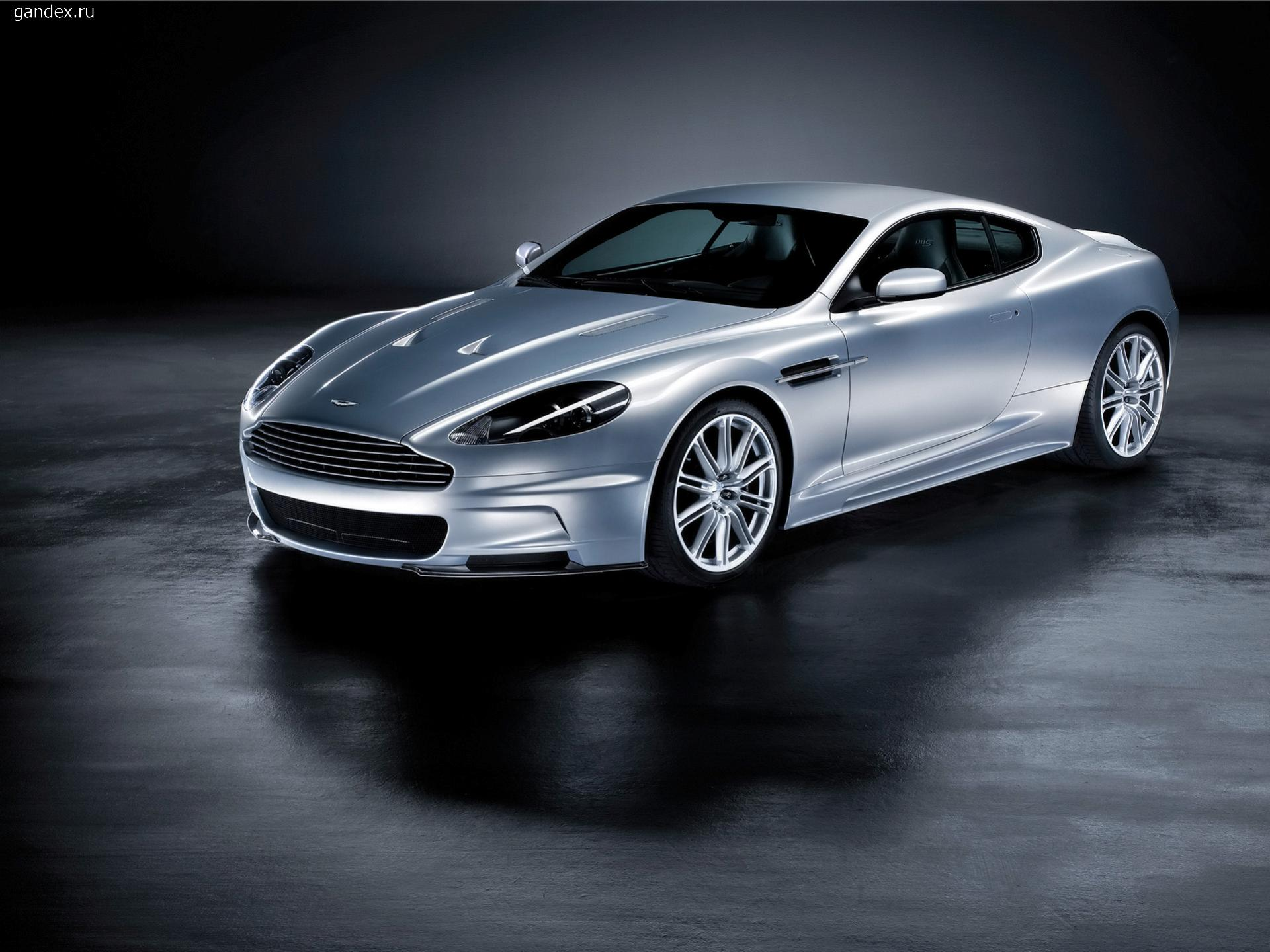 Aston Martin DBS in all its glory.