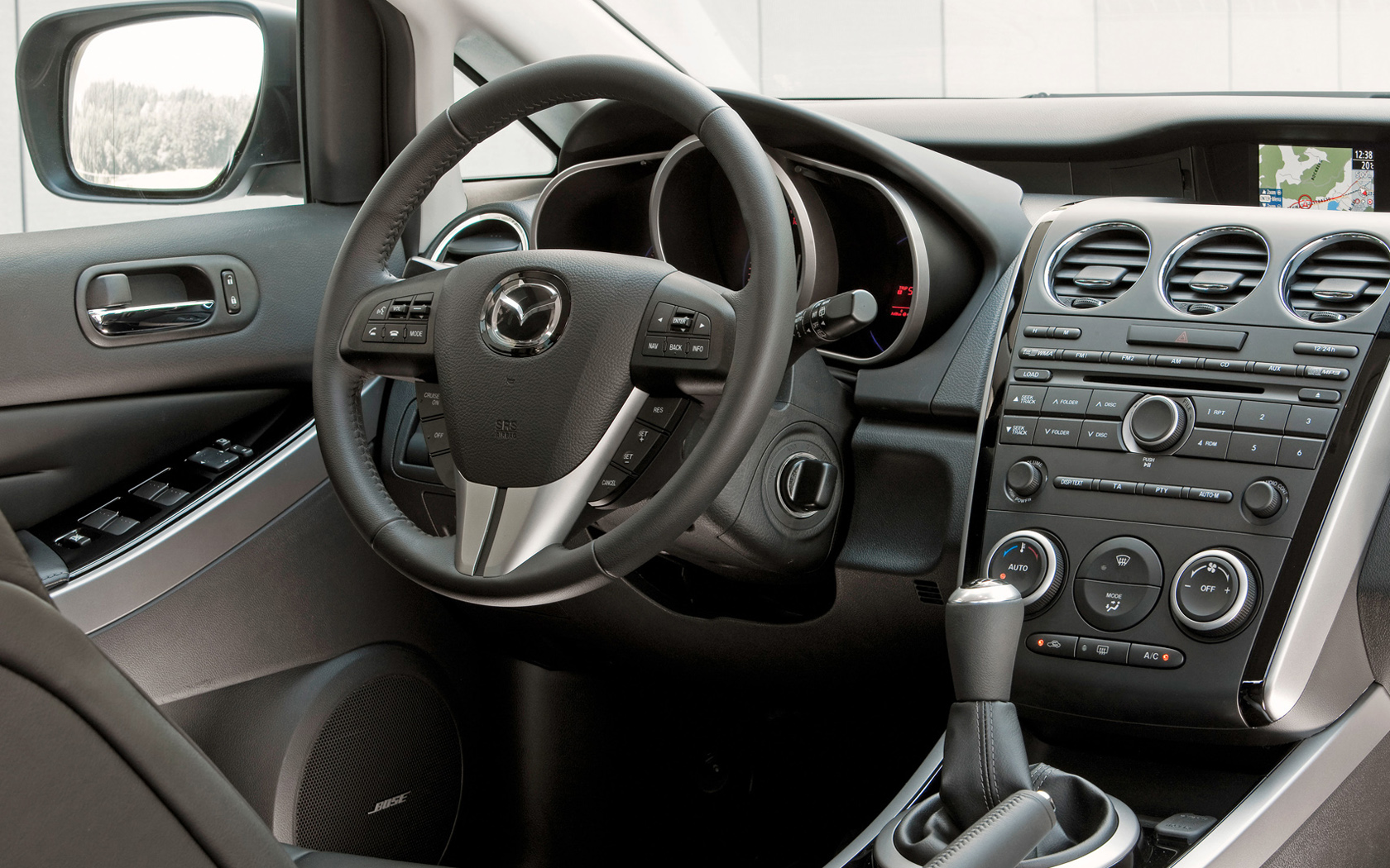 Behind the wheel of the Mazda CX 7